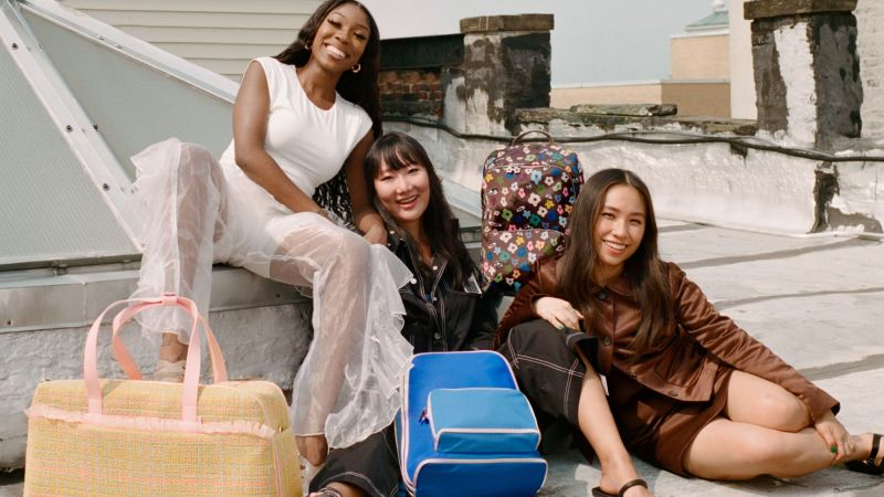 Away just launched a pattern-filled collaboration with 3 emerging designers | CNN Underscored